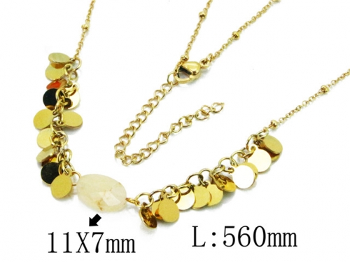 HY Wholesale 316L Stainless Steel Necklace-HY20N0113HLX