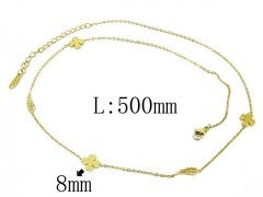 HY Wholesale 316L Stainless Steel Necklace-HY24N0003HIR