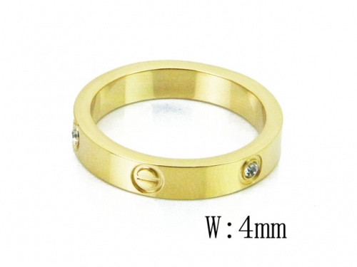 HY Wholesale 316L Stainless Steel Rings-HY14R0554MLD