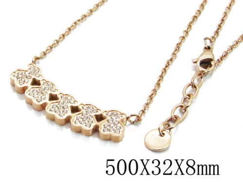 HY Stainless Steel 316L Necklaces (Bear Style)-HY90N0142IOS
