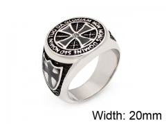 HY Wholesale 316L Stainless Steel Rings-HY0055R007