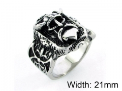 HY Wholesale 316L Stainless Steel Rings-HY0055R028