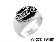 HY Wholesale 316L Stainless Steel Rings-HY0055R043