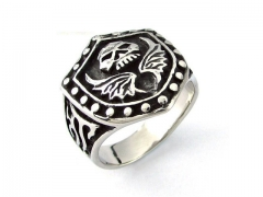 HY Wholesale 316L Stainless Steel Rings-HY0055R024