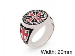 HY Wholesale 316L Stainless Steel Rings-HY0055R006