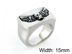 HY Wholesale 316L Stainless Steel Rings-HY0055R002