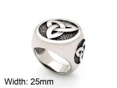 HY Wholesale 316L Stainless Steel Rings-HY0055R022