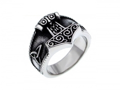 HY Wholesale 316L Stainless Steel Rings-HY0055R041