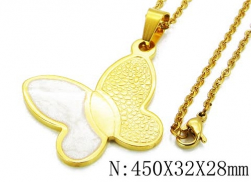 HY Wholesale 316L Stainless Steel Necklace-HY12N0018PZ