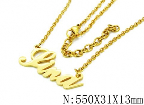 HY Wholesale 316L Stainless Steel Necklace-HY12N0022MZ
