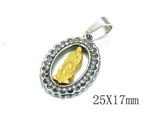 HY Wholesale 316L Stainless Steel Pendant-HY12P0631MF