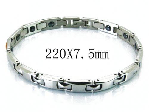 HY Stainless Steel 316L Bracelets (Magnetic Health)-HY36B0194HNV