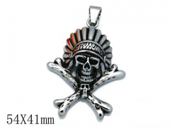 HY Stainless Steel 316L Pendants (Skull Style)-HY06P0784H20
