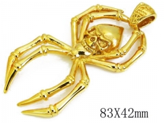 HY Stainless Steel 316L Pendants (Skull Style)-HY06P0795H40