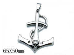 HY Stainless Steel 316L Pendants (Skull Style)-HY06P0785H20