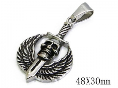 HY Stainless Steel 316L Pendants (Skull Style)-HY06P0800P0