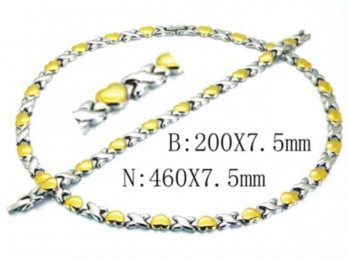 HY Wholesale Necklaces Bracelets Sets-HY63S0414JOR