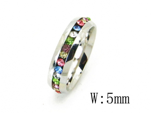 HY Wholesale 316L Stainless Steel Rings-HY23R0086KZ