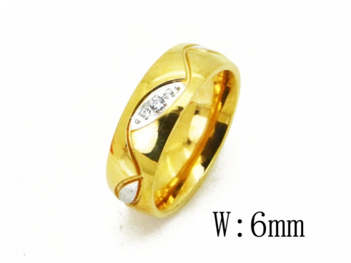 HY Wholesale 316L Stainless Steel Rings-HY23R0089MQ