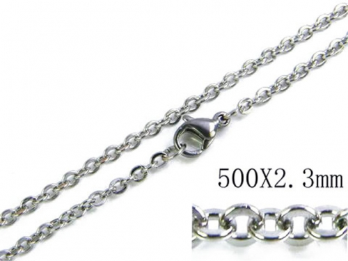 HY Stainless Steel 316L Rolo Chains-HY61N0012H5