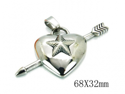 HY 316L Stainless Steel Lover Pendant-HY22P0322HJF