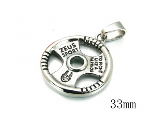 HY 316L Stainless Steel Popular Pendant-HY22P0348HIY