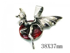 HY Stainless Steel 316L Pendants (Skull Style)-HY22P0593HIW