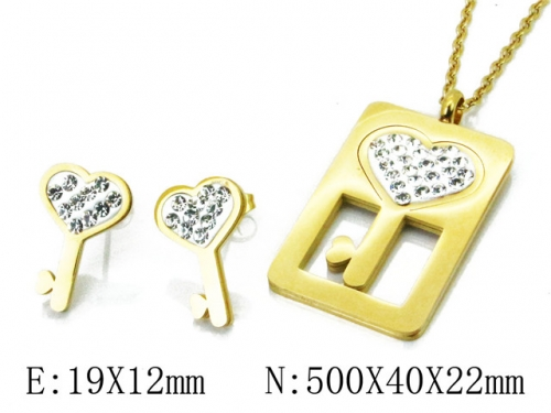 HY 316L Stainless Steel Lover jewelry Set-HY02S2786HIS