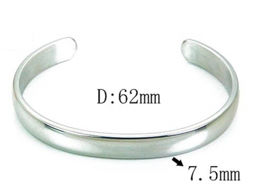 HY Wholesale 316L Stainless Steel Bangle-HY54B0133ML