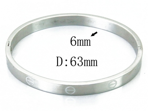 HY Wholesale 316L Stainless Steel Bangle-HY42B0219ML