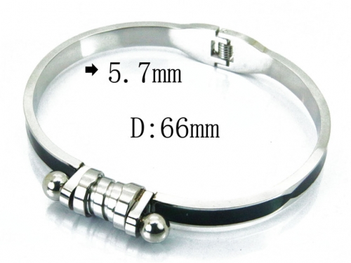 HY Wholesale 316L Stainless Steel Bangle-HY80B0952HKZ