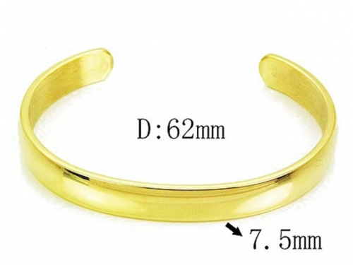 HY Wholesale 316L Stainless Steel Bangle-HY54B0134PL