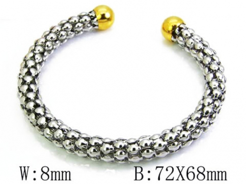 HY Wholesale 316L Stainless Steel Bangle-HY58B0110N0