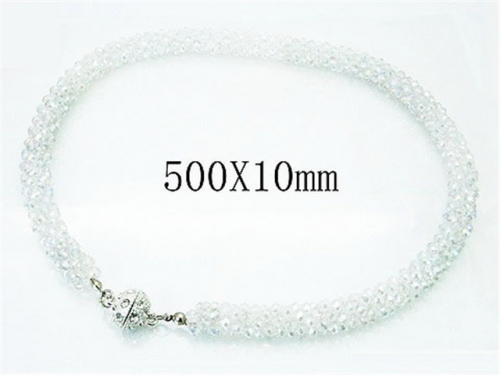 HY Wholesale 316L Stainless Steel Necklace-HY35N0234HOX