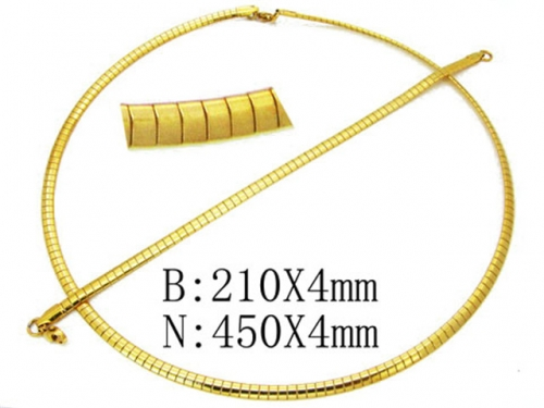 HY Wholesale Necklaces Bracelets Sets (Snake Style)-HY61S0277HHZ