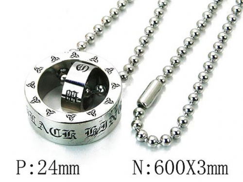 HY Wholesale 316L Stainless Steel Necklace-HY22N0100HOQ