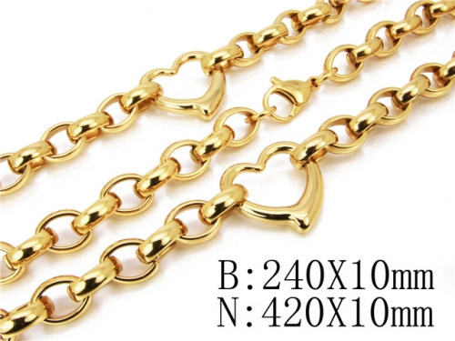 HY Wholesale Necklaces Bracelets Sets-HY61S0205HOR
