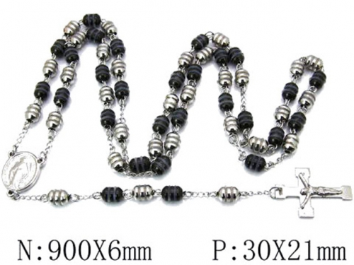 HY Wholesale Stainless Steel 316L Necklaces (Religion Style)-HY55N0112I30