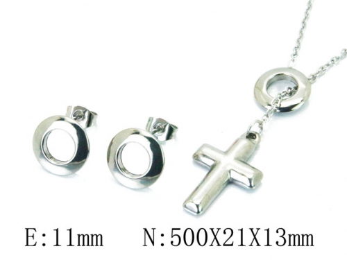 HY 316 Stainless Steel jewelry Set-HY59S1386NLY