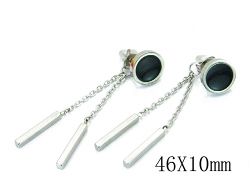 HY Wholesale 316L Stainless Steel Earrings-HY59E0707ME