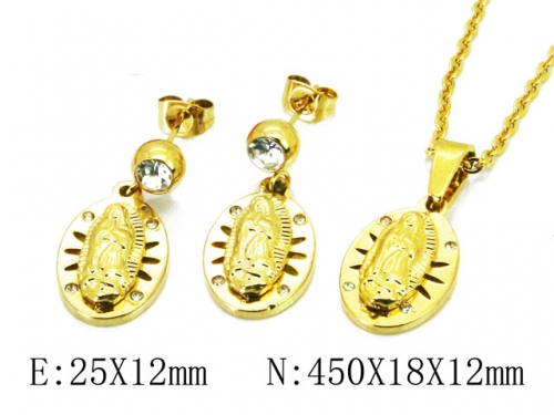 HY 316L Stainless Steel jewelry CZ Set-HY67S0102PQ
