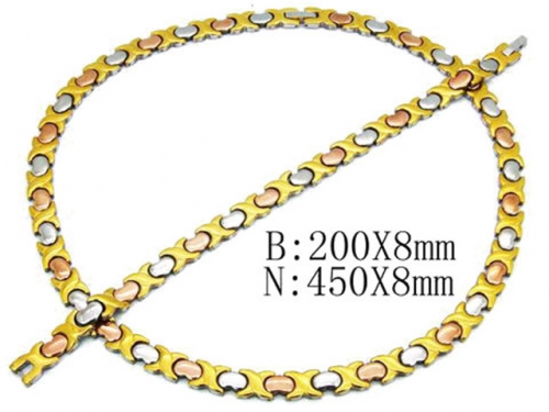 HY Wholesale Necklaces Bracelets Sets-HY63S0108K80
