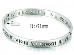HY Wholesale 316L Stainless Steel Bangle-HY14B0569HKE