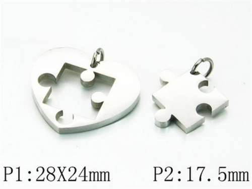 HY 316L Stainless Steel Lover Pendant-HY59P0359LL