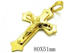 HY 316L Stainless Steel Cross Pendants-HY08P0723HJF