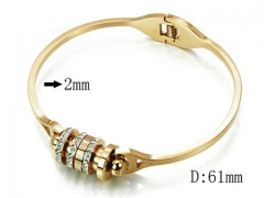 HY Wholesale 316L Stainless Steel Bangle-HY14B0677IHW