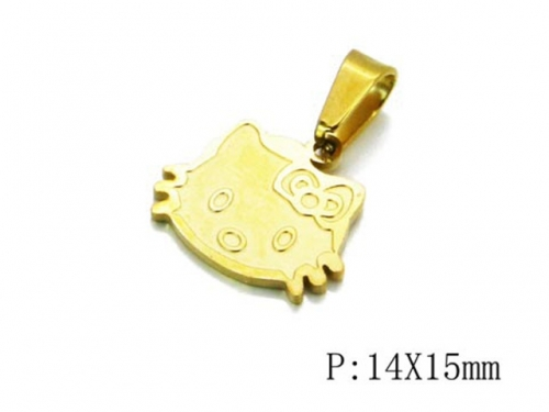 HY 316L Stainless Steel Animal Pendant-HY12P0389ILF