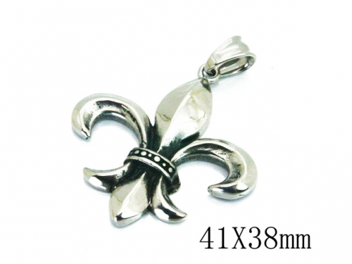 HY Wholesale 316L Stainless Steel Pendant-HY00P0056