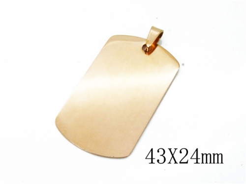 HY Wholesale Stainless Steel 316L Pendants-HY70P0717JL