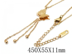 HY Wholesale Stainless Steel 316L Necklaces-HY80N0266NL